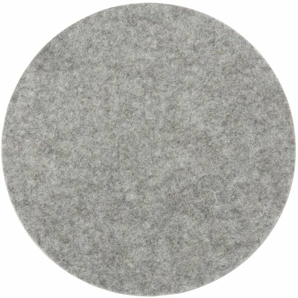 silver grey melange double